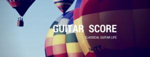 Guitar Score