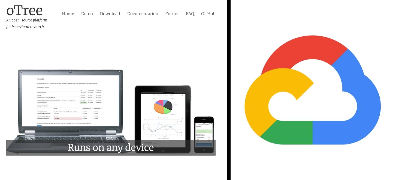 oTreeをGoogle Cloud PlatformのCompute Engineで動かして、外部からのアクセス(実験)が可能に